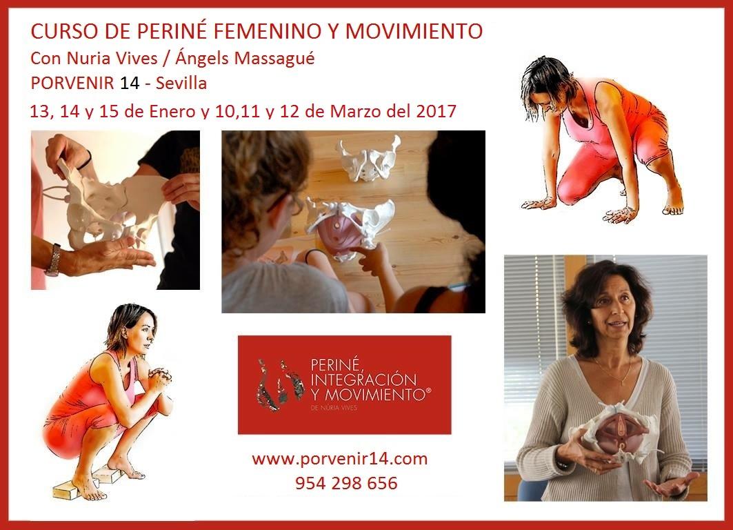 Nuria Vives y Angels Massague. Curso de periné femenino y movimiento ...